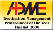 Destination Management Proffessional of the Year Finalist